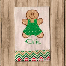 "Toalla de Cocina Decorativa ""Kitchen Towels"" con Figura de Niño Galleta"