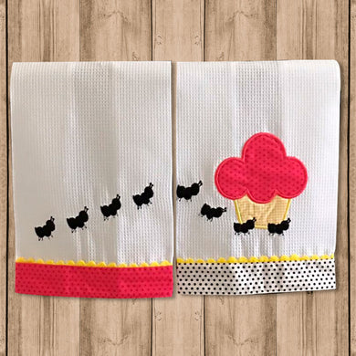 "Set Toalla de Cocina Decorativa ""Kitchen Towels"