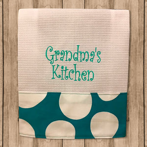 "Toalla de Cocina Decorativa ""Kitchen Towels"" Frases de la Abuela"