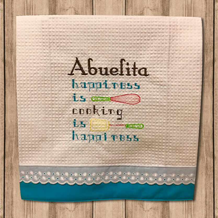 "Toalla de Cocina Decorativa ""Kitchen Towels"