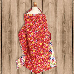 "Delantal de Lactancia ""Breastfeeding Apron"" con Flores"