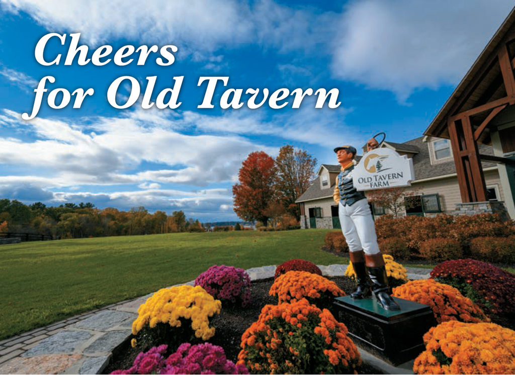 Cheers for Old Tavern by BloodHorse Magazine