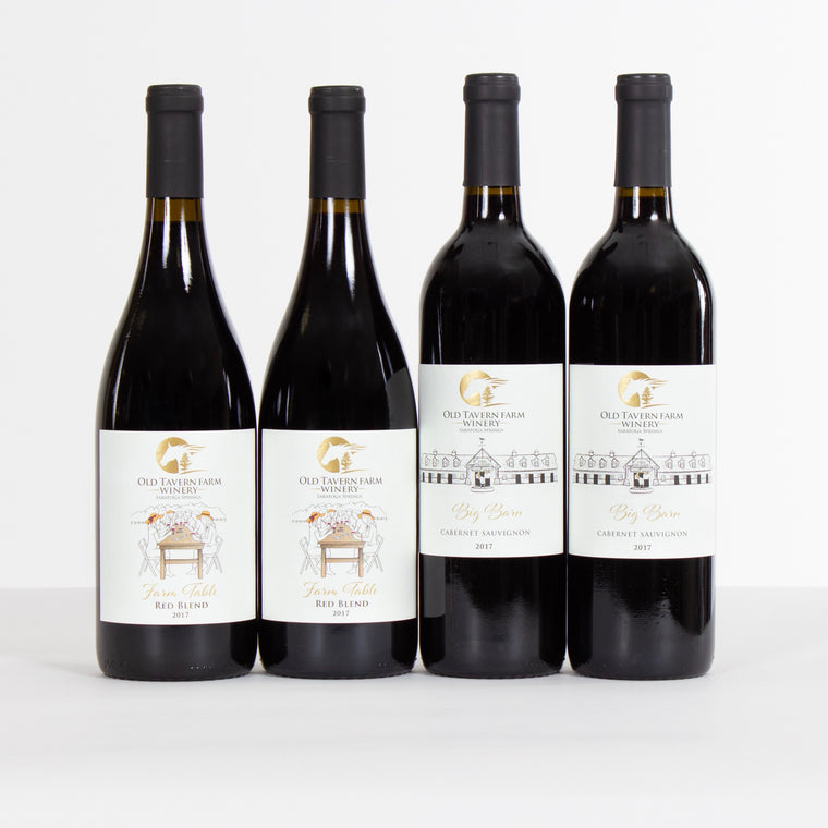 4 Pack for Red Wine Lovers
