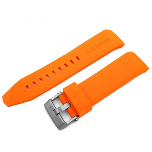EKRANOPLAN ORANGE SILICONE STRAP 25mm - MATT BUCKLE