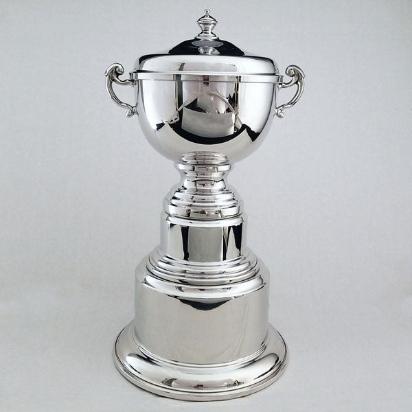 Colonial Trophy Cup with Pewter Base