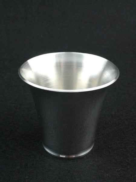 Pewter Half Dollar Shot Glass