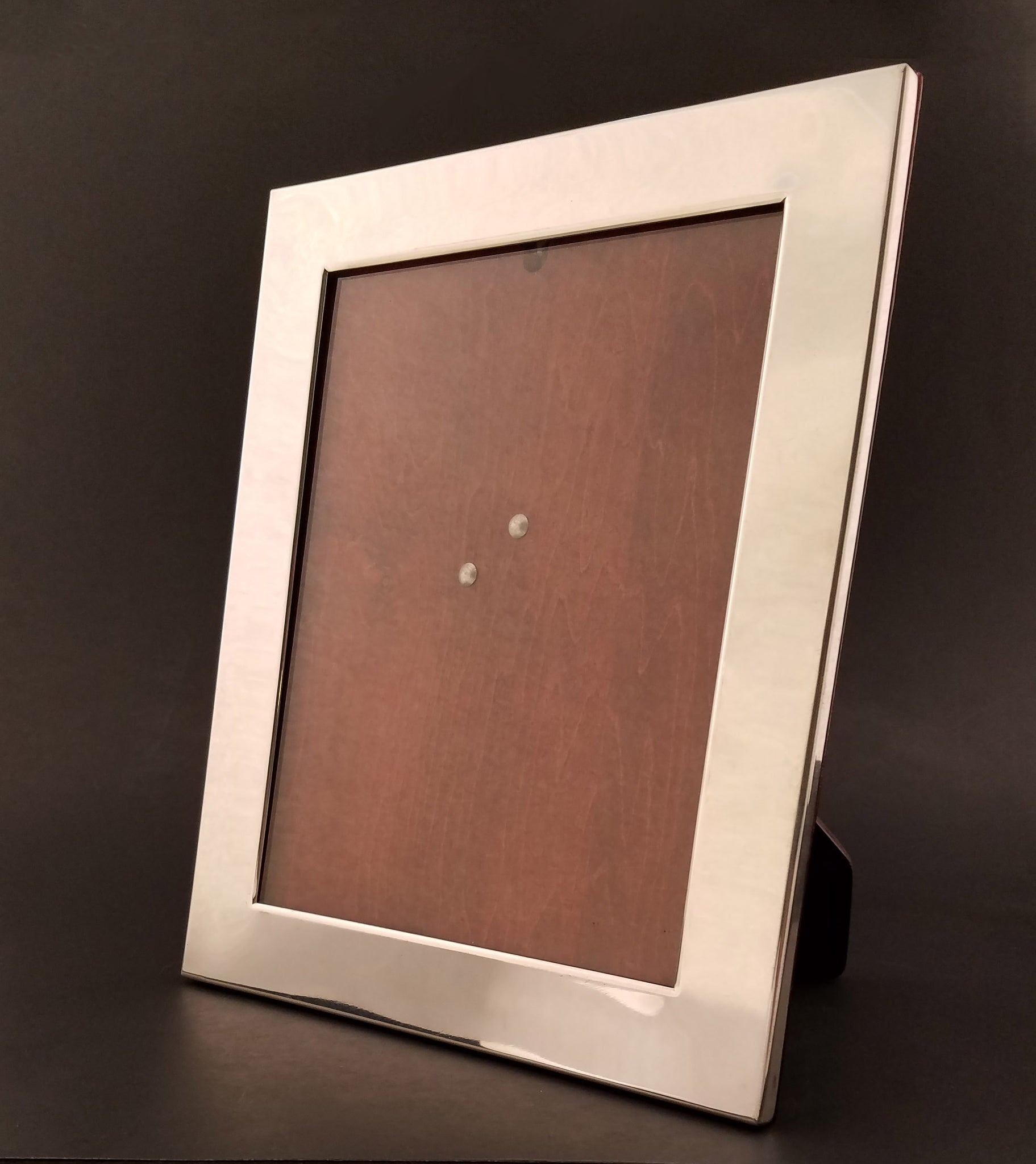 Sterling Silver Picture Frame with Hardwood Backing