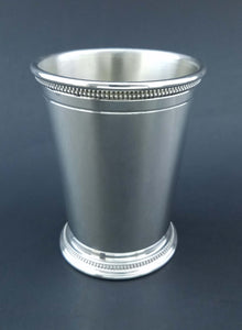 Sterling Silver Mint Julep Cup Beaded
