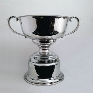 Pewter Trophy Cup with Base