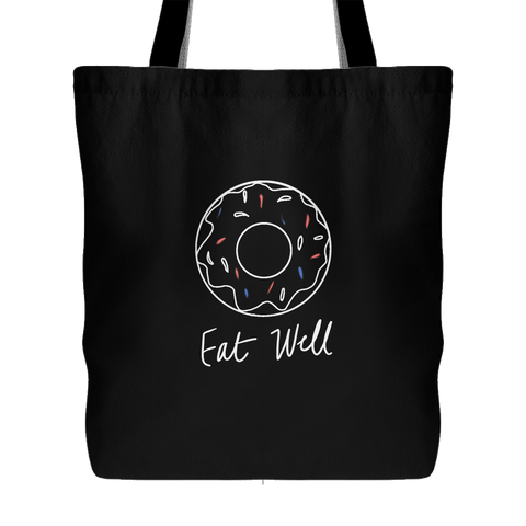 Eat Well Tote - Black
