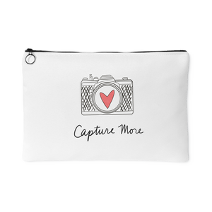 """Capture More"" Accessory Pouch (Red)"
