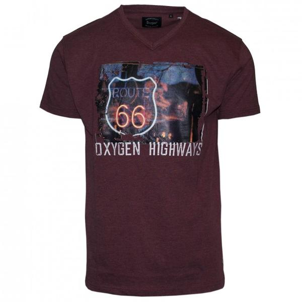 "Ανδρικό T-Shirt ""Highways"" Oxygen- eguana.gr"