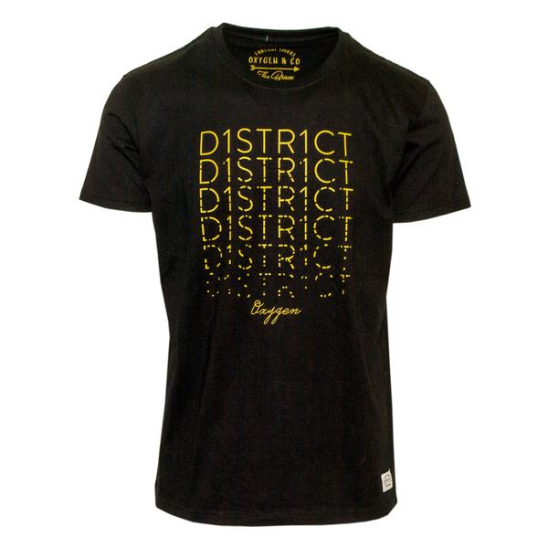 "Ανδρικό T-Shirt ""District"" Oxygen - eguana.gr"