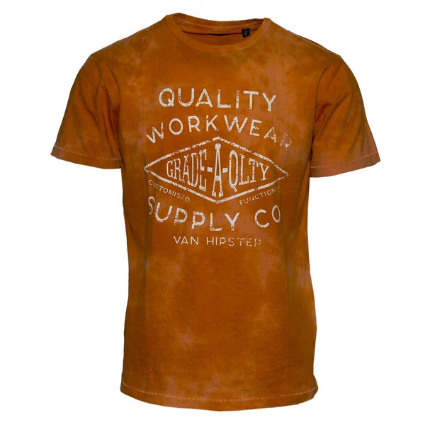 "Ανδρικό T-Shirt ""Work Wear"" Van Hipster"