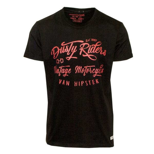 "Ανδρικό T-Shirt ""Dusty Riders"" Van Hipster - eguana.gr"