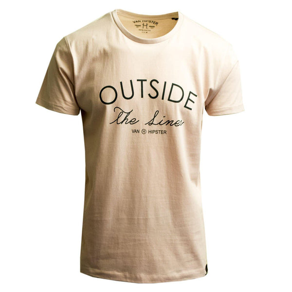 "Ανδρικό T-Shirt ""Outside"" Van Hipster-eguana.gr"