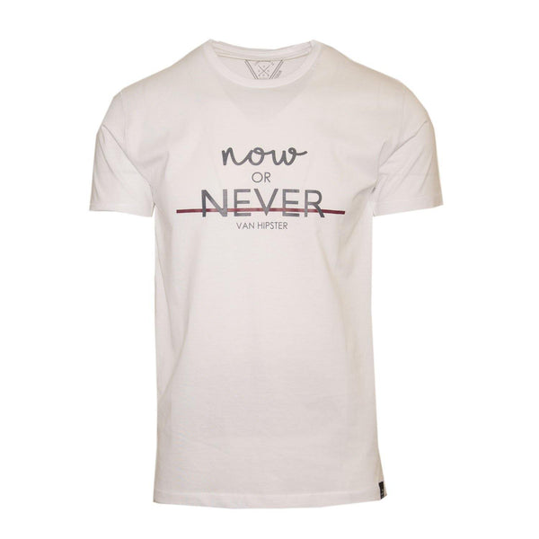 "Ανδρικό T-Shirt ""Now Or Never2"" Van Hipster-eguana.gr"