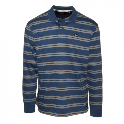 Ανδρική Μπλούζα Polo The Stripes Oxygen -Indigo-XXL