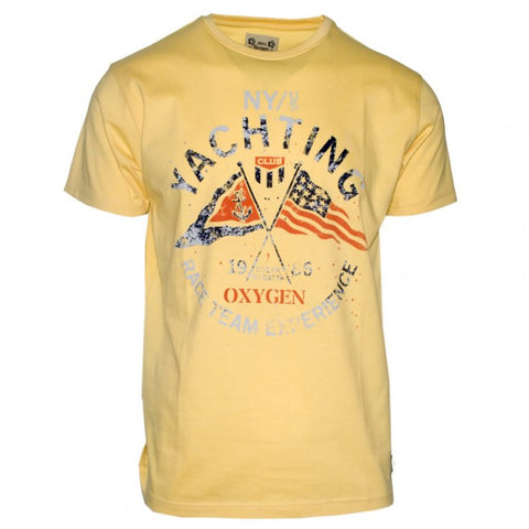 Ανδρικό T-Shirt -Yellow-XL