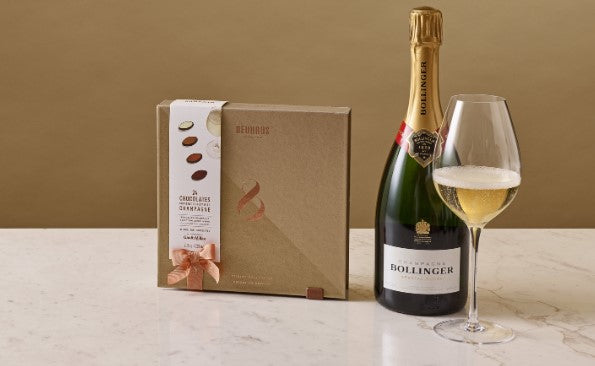 Neuhaus Chocolate and Sparkling Wine Pairing Collection