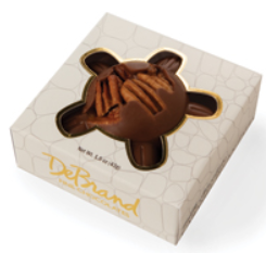 DeBrand Caramel Pecan Turtles - Milk or Dark