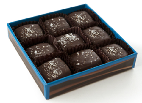 DeBrand Boxed Sea Salt Caramel - Milk or Dark