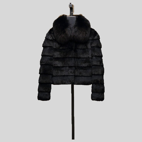 Full Pelt Rabbit Fur Jacket - Knot Bene