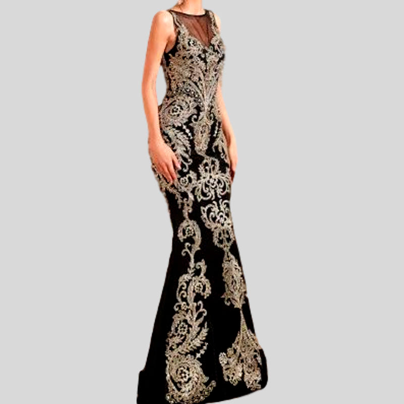 Mermaid Lace Formal Gown Evening Dress