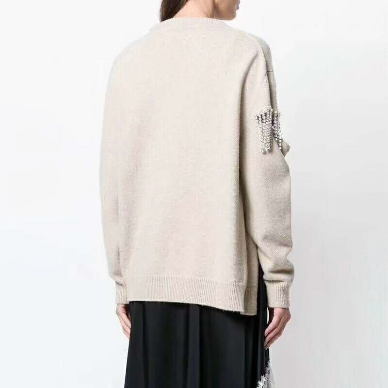 Hollow Out Knitting Pullover Top