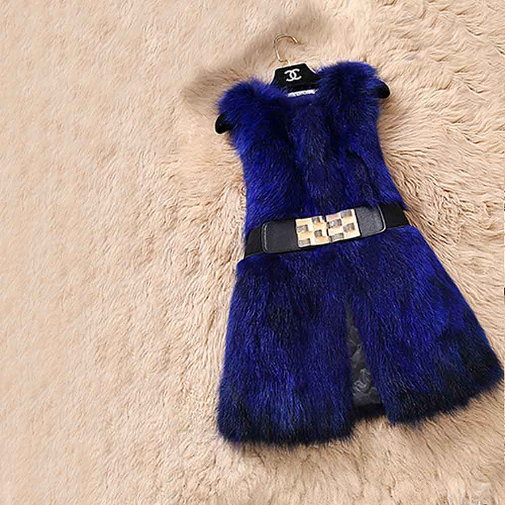 Genuine Fox Fur Vest - Knot Bene