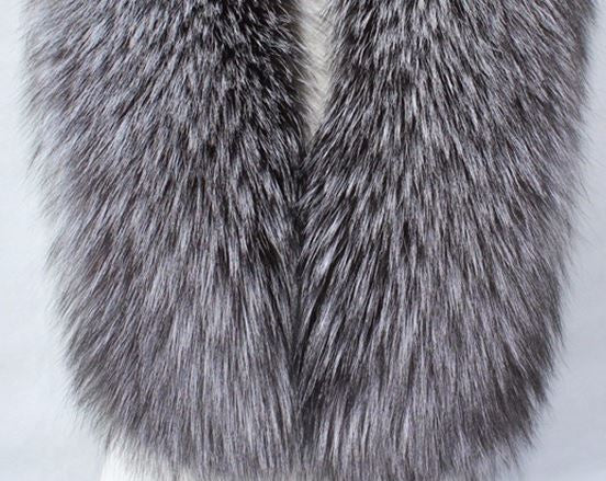 Genuine Raccoon Fur Scarves - Knot Bene
