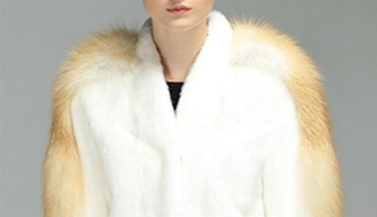 Genuine Mink with Fire Fox fur sleeve Jacket - Knot Bene