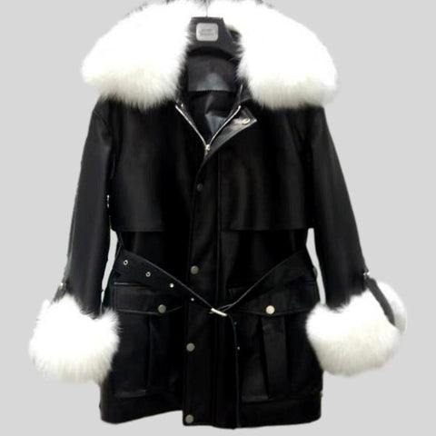 Luxurious Loose Style Genuine  Mink Fur Coats