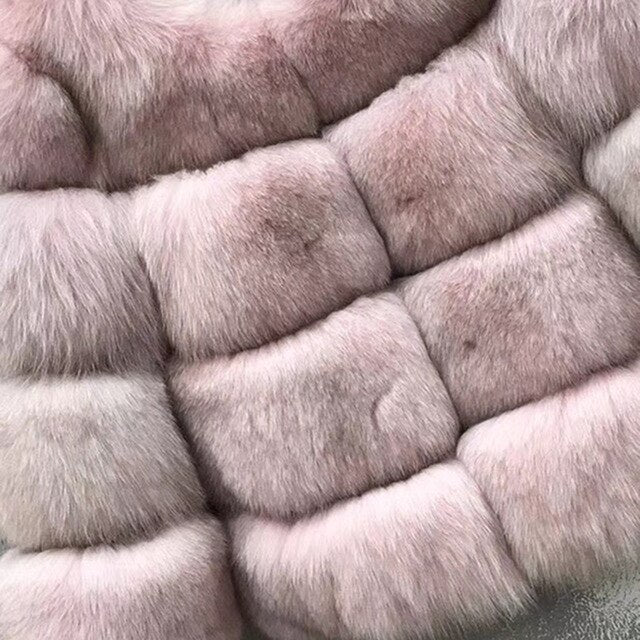 Natural  Fox Fur Coat