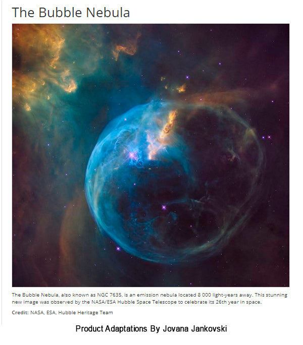NasaHubble Bubble Nebula Leggings American Pride Outlet - Heres hubbles first ever picture of the entire bubble nebula