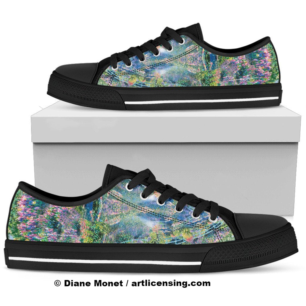 Diane Monet - Calm Afternoon - Men's Low Top Canvas Shoe Style 2