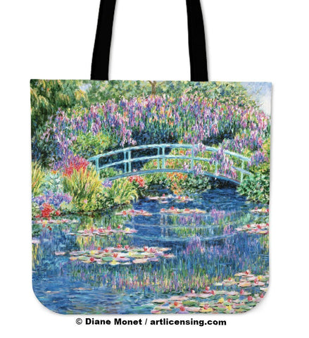 Diane Monet Calm Afternoon tote bag