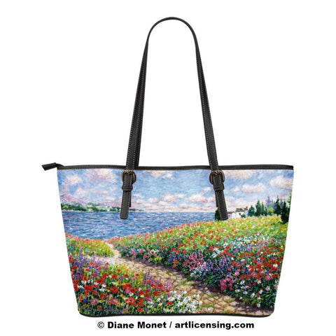 Diane Monet Path to The Beach tote