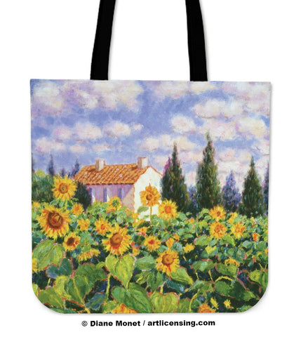 Diane Monet Enchante tote bag