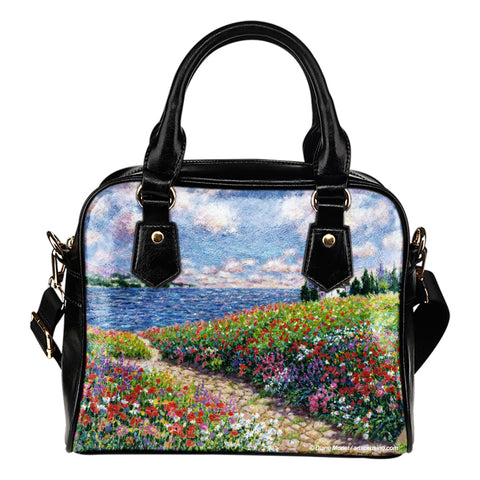 Diane Monet - Path To The Beach - Shoulder Handbag