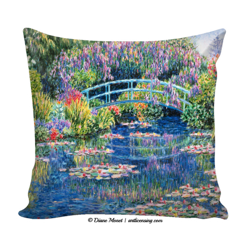 Pillow Covers (4 styles)  - Diane Monet Collection [TL0MP5SS]
