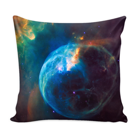 Nasa-Hubble: Bubble Nebula pillow cover