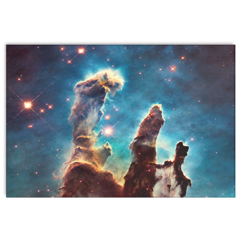 Nasa-Hubble: Pillars of Creation  canvas wrap