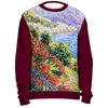 Diane Monet - View From Hotel Santa Cataune - All Over Print Sweatshirt - Marron