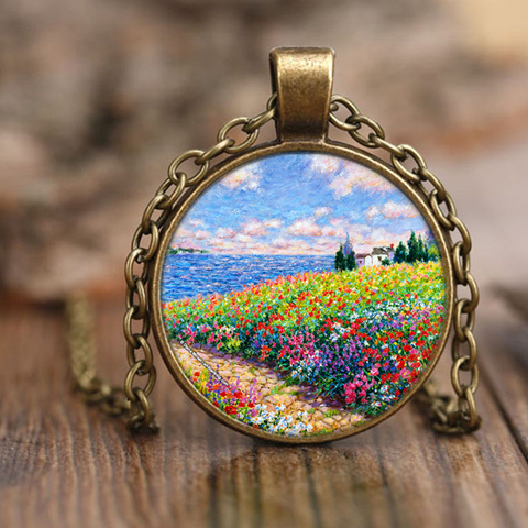 Diane Monet - Path To The Beach - Necklace