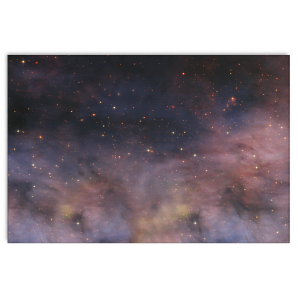 Nasa-Hubble: Mammoth Stars  canvas wrap