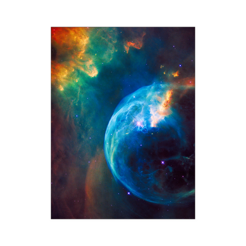Nasa-Hubble: Bubble Nebula  poster