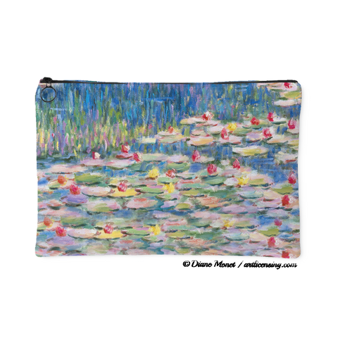 Diane Monet Calm Afternoon Lillies pouch