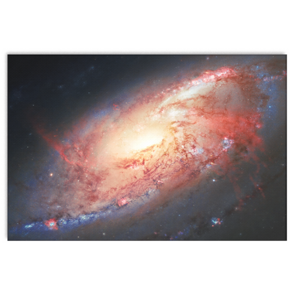 Nasa-Hubble: Galaxy M 106  canvas wrap