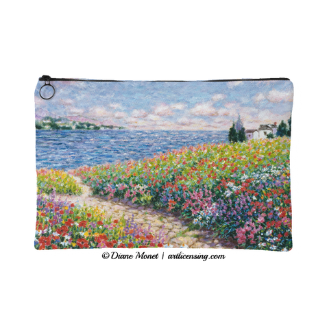 Diane Monet Path to The Beach pouch